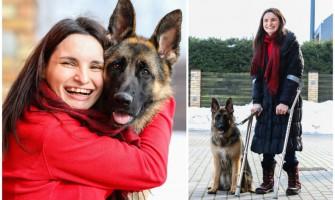 Ajana pirmoji Lietuvoje gaus šunį vedlį